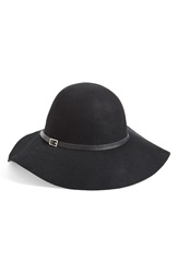 Michael Stars 'Uptown' Floppy Hat Black