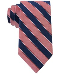 Club Room Men's Sail Stripe Classic Tie Only At Macy's Red