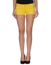 Roy Rogers Roy Roger's Denim Shorts Yellow