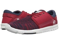Etnies Scout Yb Navy Red White Men's Skate Shoes Blue