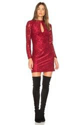 Wyldr Just A Thought High Neck Dress Red