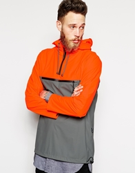 Rains Overhead Anorak Jacket Orange