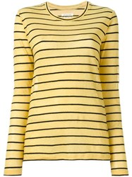 Etoile Isabel Marant Aaron T Shirt Yellow Orange