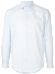 Cerruti 1881 Pointed Collar Shirt Blue
