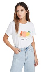 South Parade Tutti Frutti Tee White