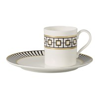 Villeroy And Boch Metrochic Coffee Cup Saucer