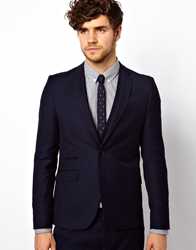 Vito Suit Jacket In Navy