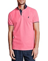 Thomas Pink Brandon Plain Regular Fit Polo Pink Navy