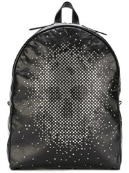 Alexander Mcqueen Studded Skull Backpack Black