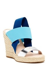 Delman Jamie Wedge Sandal Multi