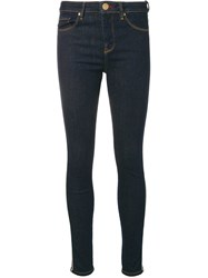 Tommy Hilfiger Low Rise Skinny Trousers Blue