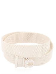 Salvatore Ferragamo Jewels Double Mesh Chain Bracelet