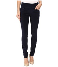 Jag Jeans Nora Pull On Skinny 18 Wale Corduroy Midnight Women's Casual Pants Navy
