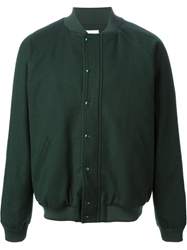 Band Of Outsiders Varsity Jacket Green