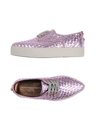 Alexander Smith Lace Up Shoes Pink