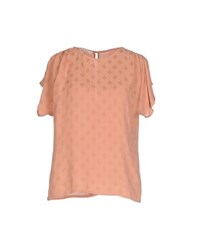Sessun Shirts Blouses Women Salmon Pink