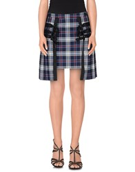 Chloe Sevigny For Opening Ceremony Skirts Mini Skirts Women Dark Blue