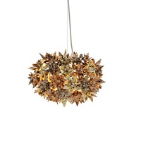 Kartell Bloom Ceiling Lamp Gold Bronze Copper Small