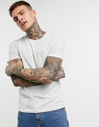 Celio T Shirt With Pocket In Grey