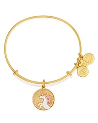 Alex And Ani Unicorn Expandable Wire Bangle Charity By Design Collection Rafaelian Gold