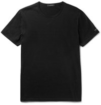 Ermenegildo Zegna Cotton Jersey T Shirt Black
