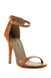 Michael Antonio Rumor Rep Open Toe Heel Brown