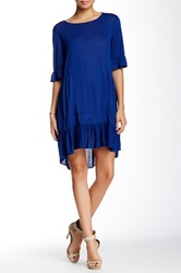 Zoa Flare 3 4 Sleeve Tunic Blue