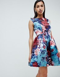 Closet London Floral Prom Dress Multi