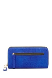 Urban Expressions Bubble Krystyna Zip Wallet Blue
