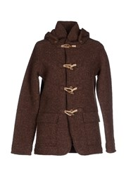 Kaos Coats And Jackets Jackets Women Brown