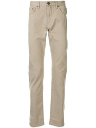 Kent And Curwen Low Rise Straight Leg Jeans 60