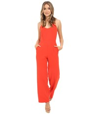 Trina Turk Golda Jumpsuit Tomato Women's Jumpsuit And Rompers One Piece Red