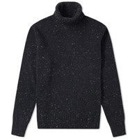 Universal Works Roll Neck Knit Grey