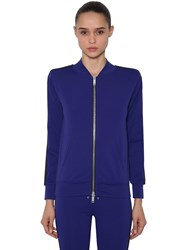 Unravel Tech Viscose Track Jacket W Band Blue Black