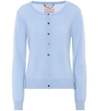 81 Hours Clyde Cashmere Cardigan Blue