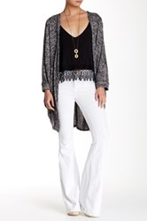 Painted Threads Open Cardigan Black