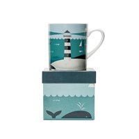 Magpie Ahoy Mug Lighthouse
