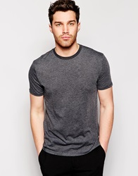 Reiss Crew Neck T Shirt Offblack
