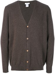 Avant Toi Knitted Cardigan Cashmere S Brown