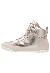 Aldo Miassi Hightop Trainers Gold