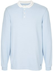 Kent And Curwen Polo Top Cotton S Blue