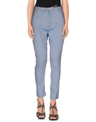 Paolo Pecora Donna Denim Denim Trousers Women Blue