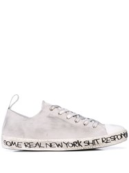 Haculla Distressed Low Top Sneakers 60