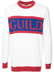 Guild Prime Brand Logo Sweater White