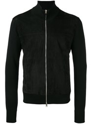 Tom Ford High Neck Zipped Jacket Black