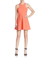 Elizabeth And James Clarissa A Line Mini Dress Light Poppy