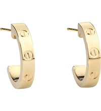 Cartier Love 18Ct Yellow Gold Earrings
