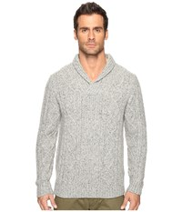 Pendleton Donegal Pullover Sweater Ash Grey Men's Sweater Gray