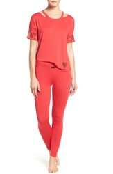 Betsey Johnson Women's Pajamas Ski Patrol