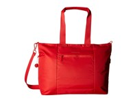 Hedgren Swing Large Tote With Rfid Tango Red Tote Handbags